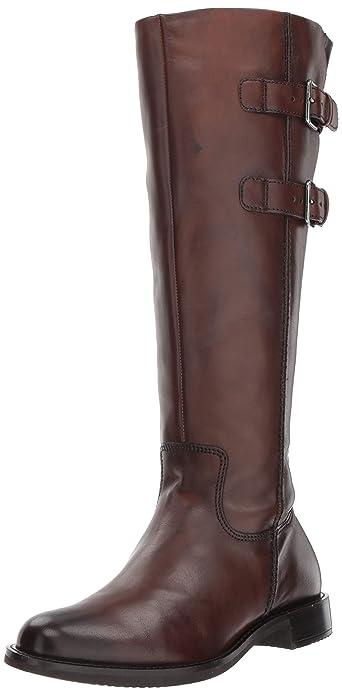 bdd14cd8374 ECCO Women s Women s Shape 25 Tall Buckle Equestrian Boot Bison 35 M EU (4-