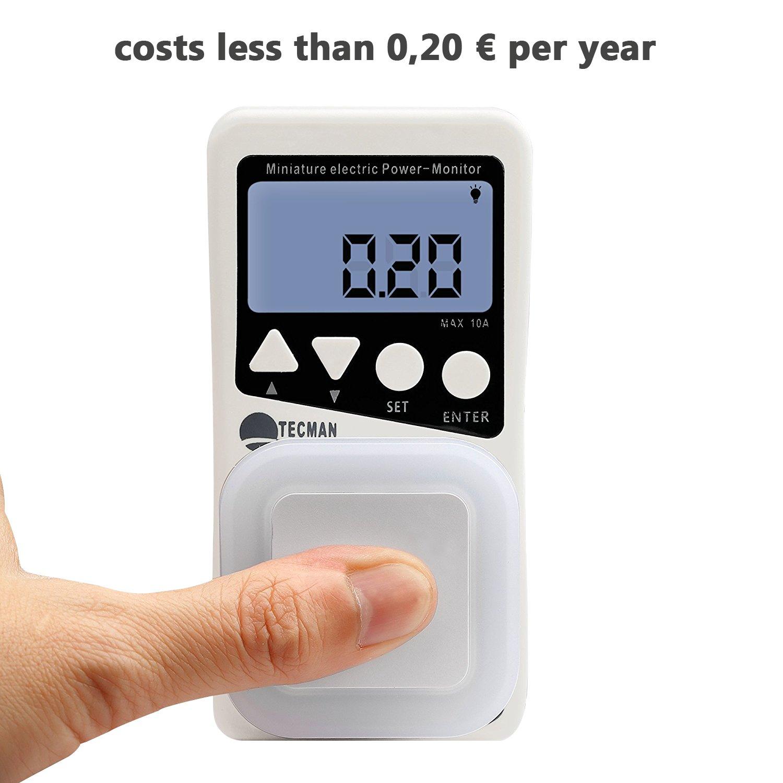 SOAIY 0,5 W LED Lámpara con Sensor de Luz, Luz Nocturna Automática, para Quitamiedo, Superbajo Consumo Energético, 3 Pcs, Blanco Frío: Amazon.es: ...