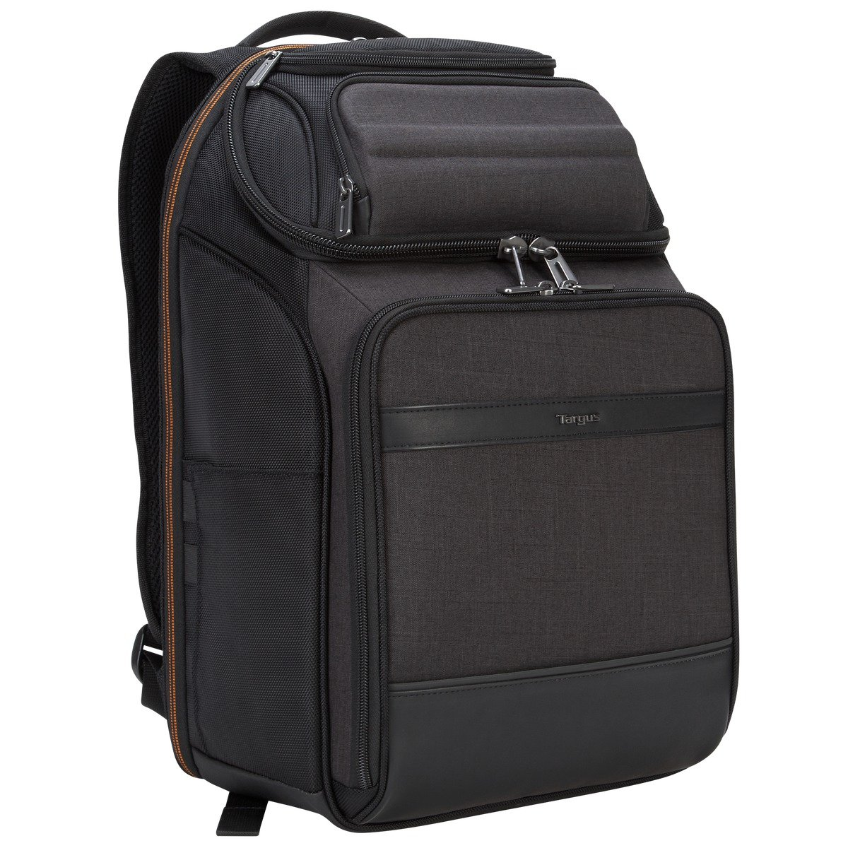 Targus CitySmart EVA Pro Checkpoint-Friendly Backpack for 15.6-Inch Laptop, Gray (TSB895)