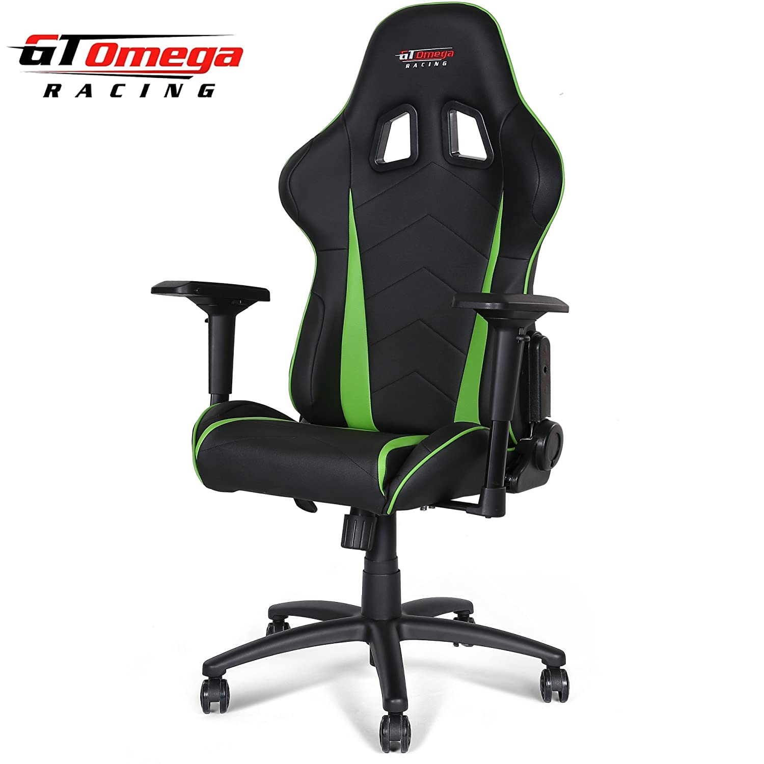 Amazon GT Omega PRO Racing fice Chair Black Next Green