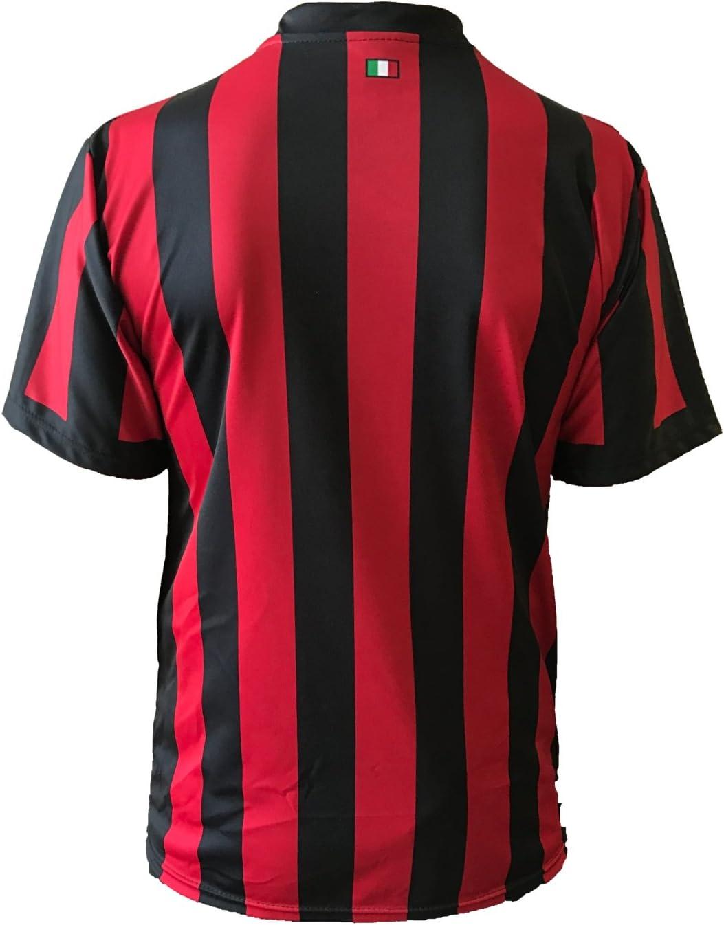 3R SPORT S.R.L. Camiseta Milan Neutra 2017-2018 Réplica Autorizada Niño Adulto, 6 años: Amazon.es: Deportes y aire libre