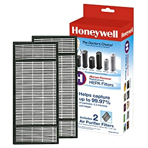 Honeywell True HEPA Air Purifier Replacement Filter 2 Pack HRF-H2 / Filter (H)