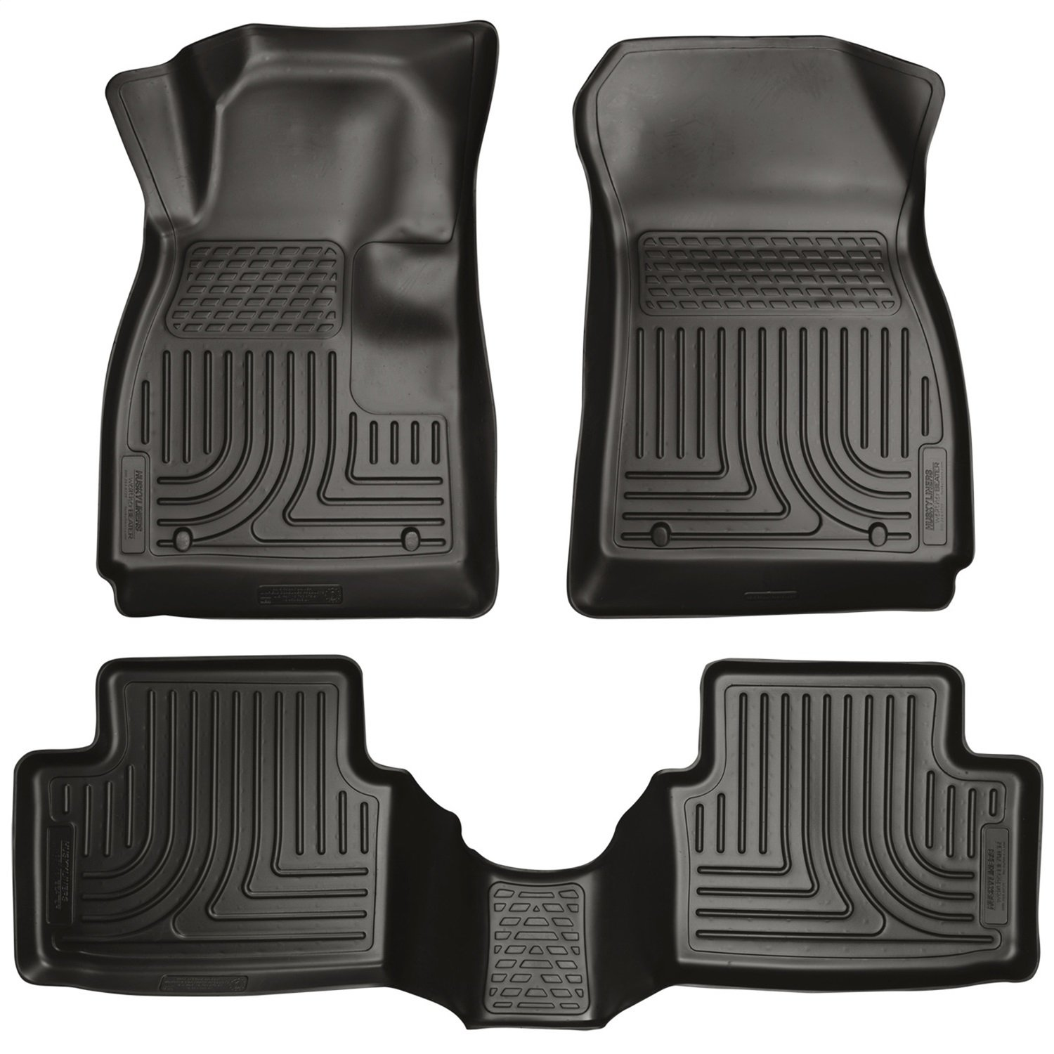 Husky Liners Front /& 2nd Seat Floor Liners Fits 14-17 Mazda 6 Grand Touring 99791
