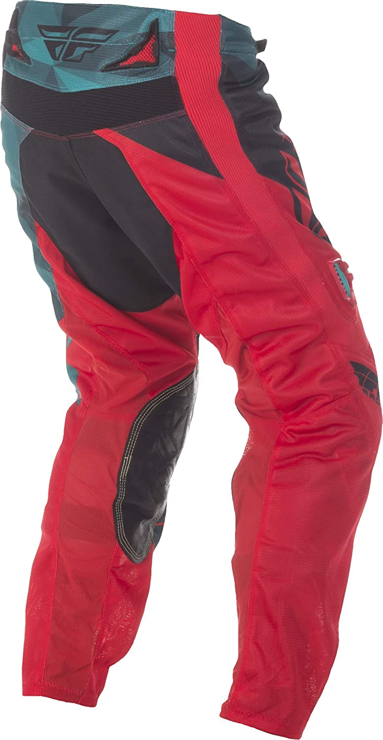 Fly Racing Unisex-Adult Kinetic Mesh Pants Black//White//Red Size 26