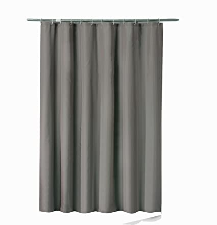 Sfoothome 36 Inch Wide X 72Inch Long Small Size Hotel Fabric Shower Curtain Waterproof And Mildew