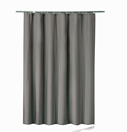 Sfoothome 36 Inch Wide X 72Inch Long Hotel Fabric Shower Curtain Waterproof  And Mildew Free Bath