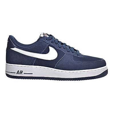 Nike Air Force Blanco 1 Hombres Zapatos De Baloncesto Blanco Force  Obsidiana 505959