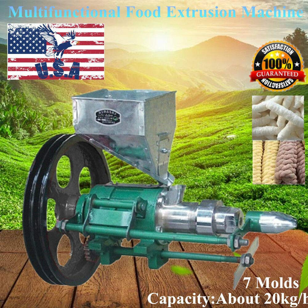 Puffed Food Extruder,Electric Corn Puffing Extrusion Machine Puff Snack Puffing Extrusion Machine by WINUS