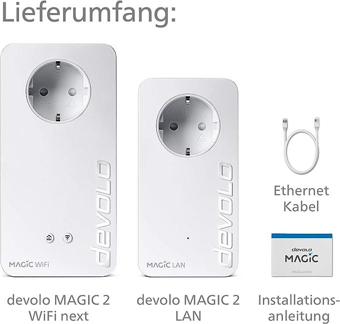 Devolo Magic 2 2400 Wifi Ac Next Starter Kit Computer Zubehör