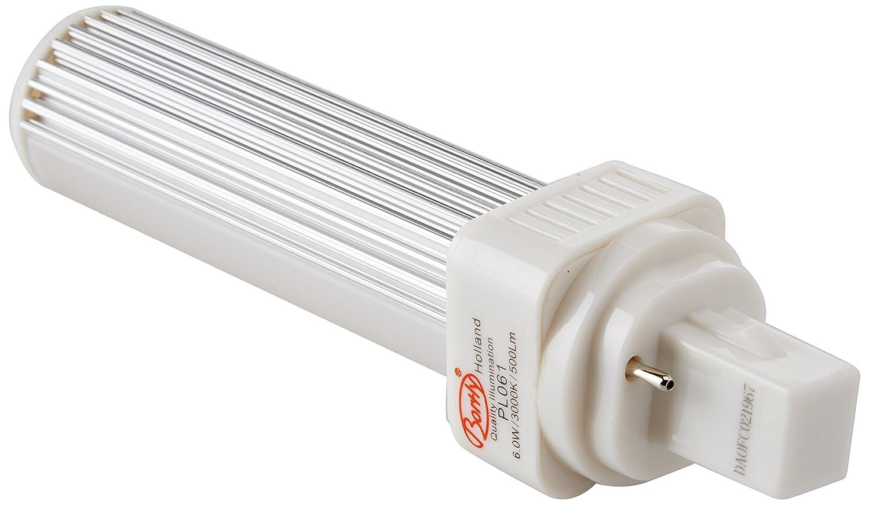 LED G24d-1 pl c pin2 Bombilla PL LED G24 3000 K/4000 K universal G24d-1 2pin sustituye OSRAM G24d-2 Dulux sustituye OSRAM G24d-2 Dulux, sustituye a Philips ...