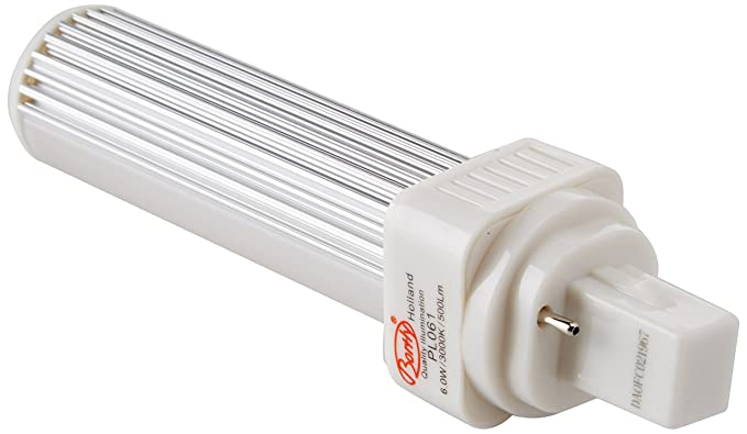 LED G24d-1 pl c pin2 Bombilla PL LED G24 3000 K/4000 K