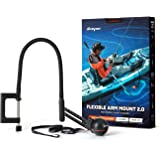 Deeper Flexible Arm Mount 2.0 Improved Design for Better Use on a Boat or Kayak