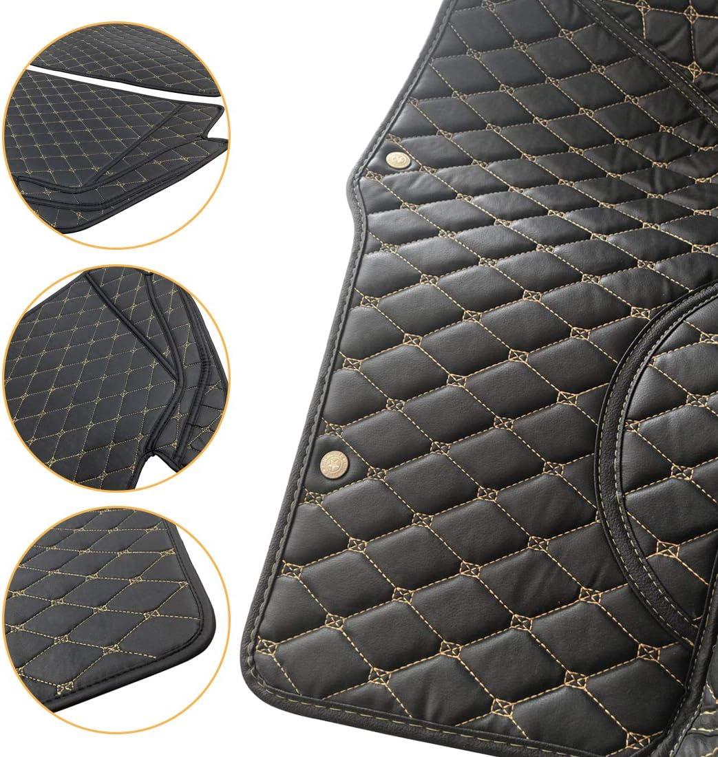 OREALTECH 3D Full Coverage Tappeti Tappeto Tappetini Tappetino Bagagliaio Auto Posteriore Baule Fodera Antiscivolo in Pelle XPE Cargo Boot Liner per BMW 3 Series F30 F80 E93 E92 F34 F31 2013-2019