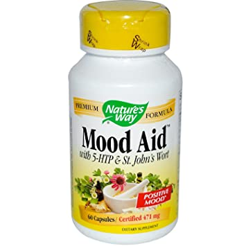Mood Aid With 5-HTP and St. Johns Wort - 60 - Capsule