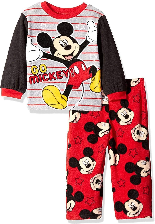 Disney Boys Mouse Mickey Fun 2 Piece Fleece Set