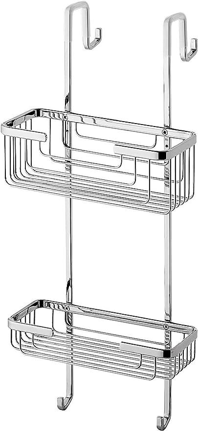 Gedy 56831300000 Porta objetos para mampara, Cromo: Amazon.es: Bricolaje y herramientas