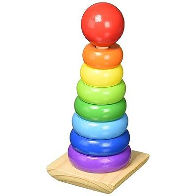 Melissa & Doug Rainbow Stacker, 1 EA: Toys & Games