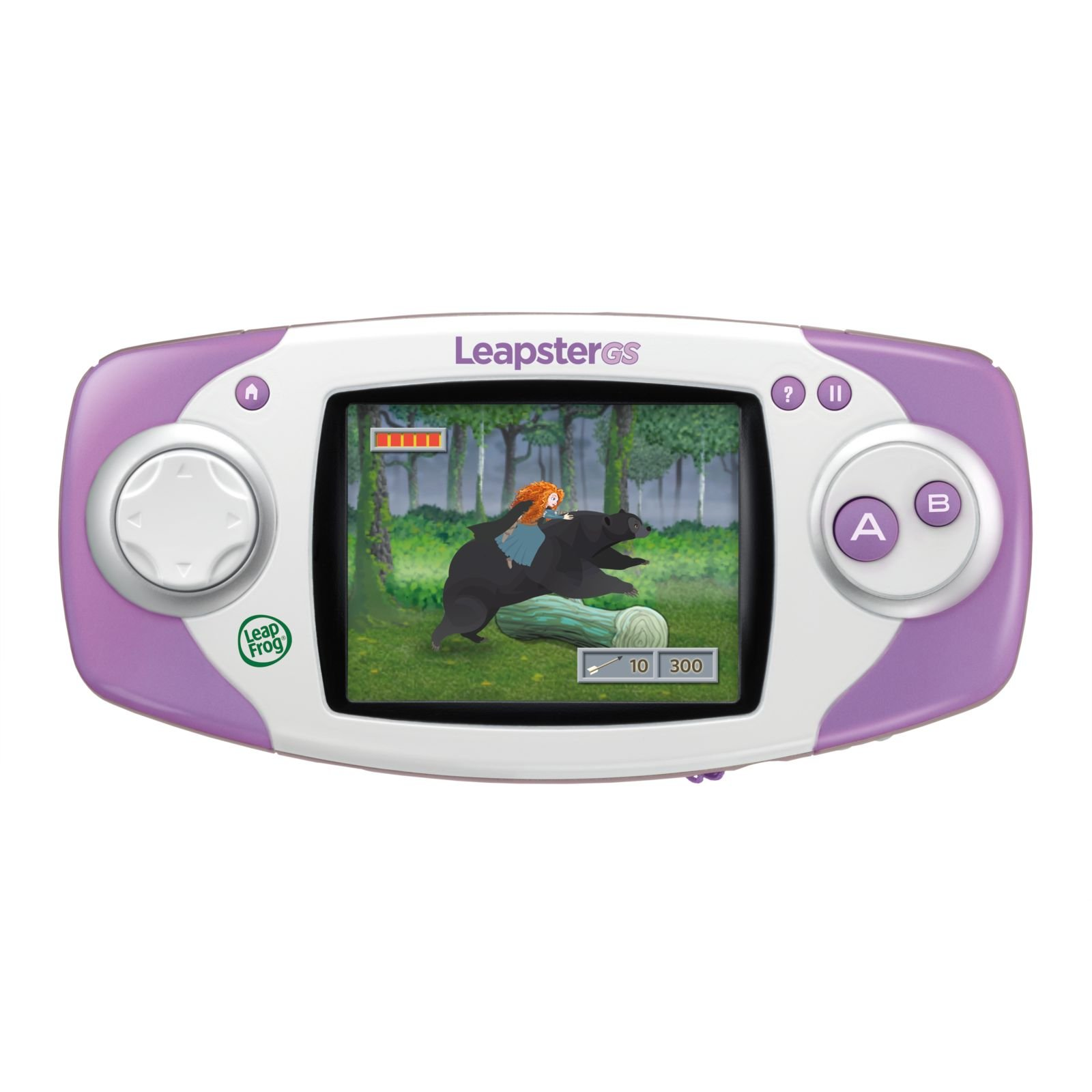 LeapFrog Leapster GS Explorer (Purple) by LeapFrog
