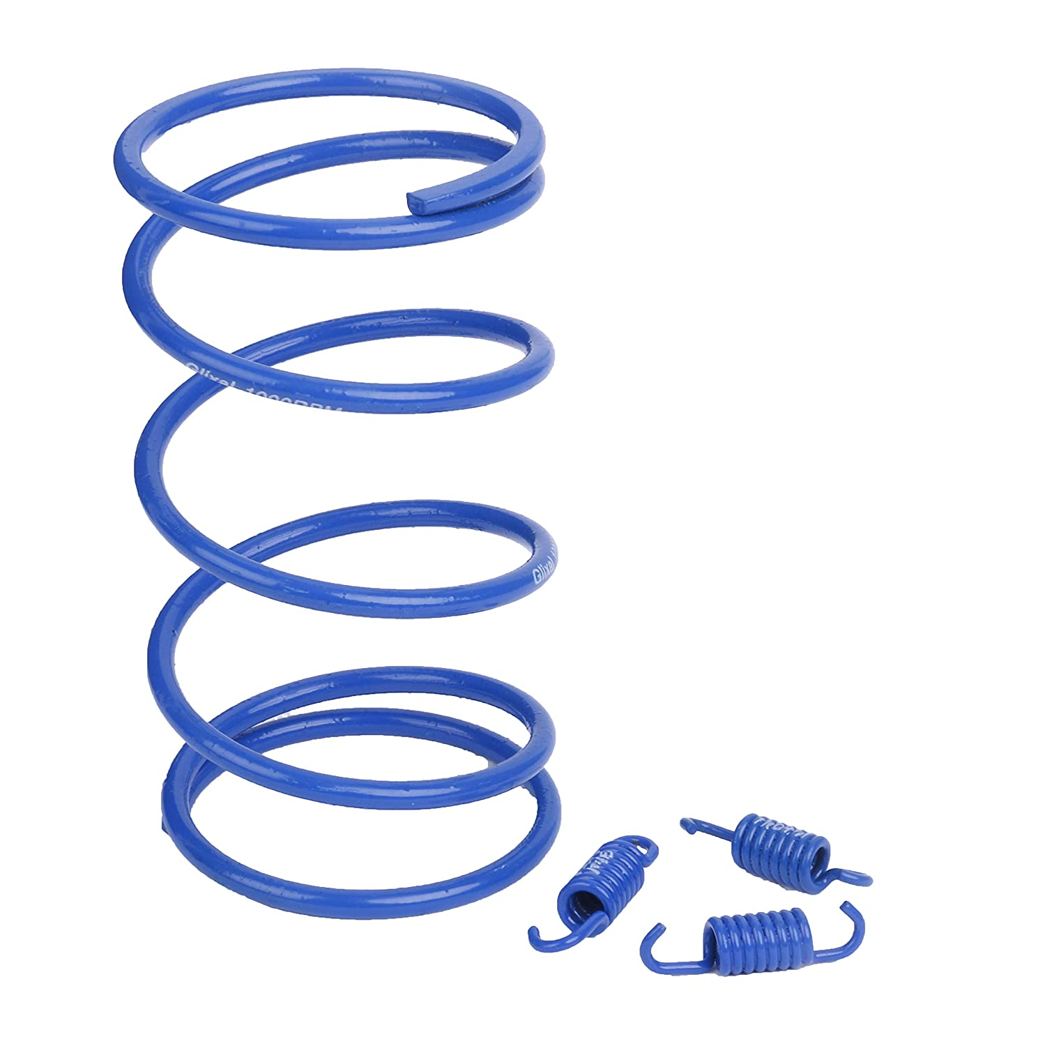 Glixal ATKS-03901 Chinese Scooter High Performance Racing Torque Spring clutch springs GY6 50cc-100cc 139QMB 1P39QMB Engine Moped ATV 1000RPM,Blue