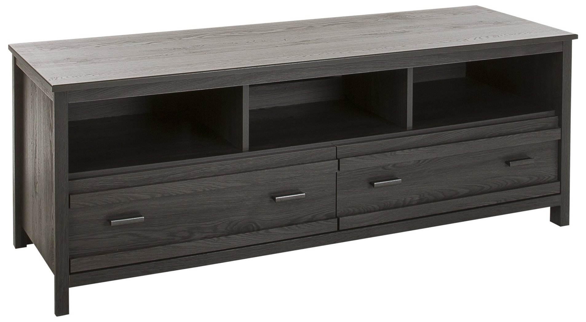 South Shore Exhibit TV Stand for TVs, Up to 60'', Gray Oak by South Shore