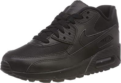 Nike Air Max 90 325213-057 - Zapatillas de running para mujer, color negro