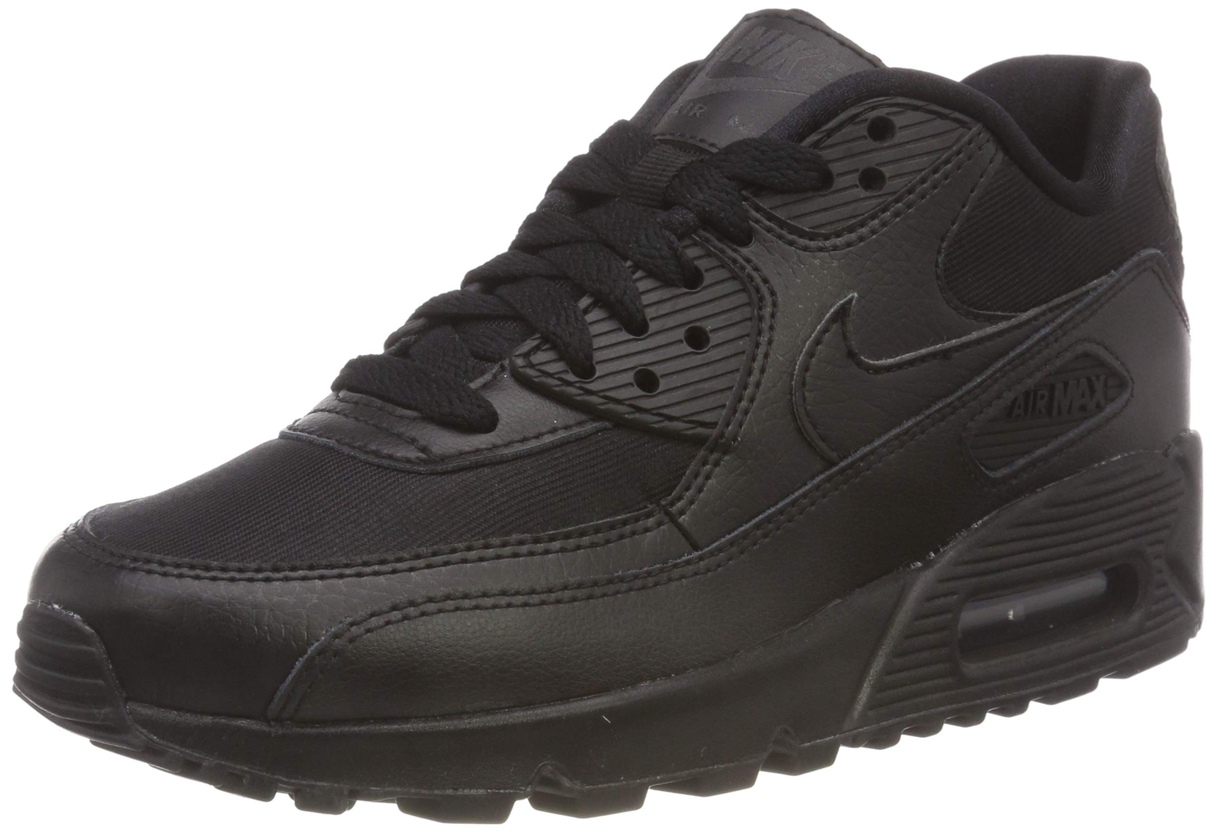 huge discount 871bb 74901 Galleon - NIKE Women s Air Max 90 Black Black Black Running Shoe 5.5 Women  US