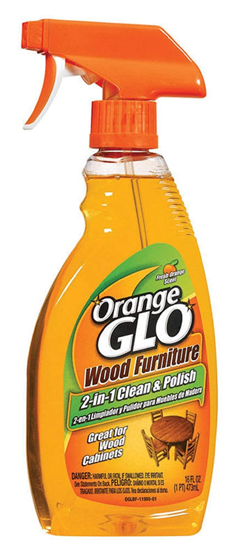 (6) - Orange Glo Wood Furniture Clean & Polish Spray, 470ml B002PBRZNC  1