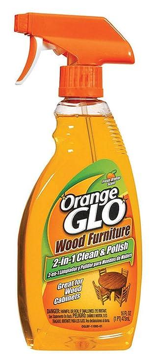Amazon Com Orange Glo Wood Furniture 2 In 1 Cleaner Polish 16