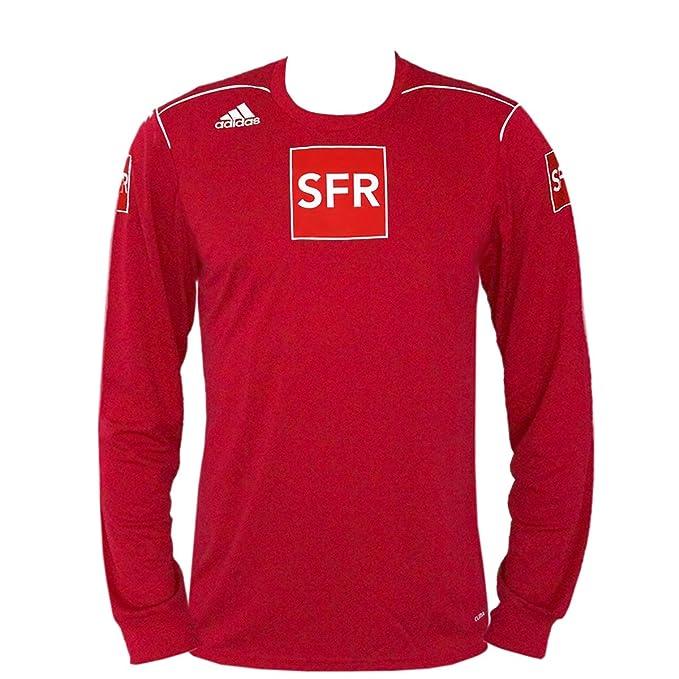 adidas Trivela – Camiseta de fútbol LS Manga Larga Rojo, (Tallas S – XL
