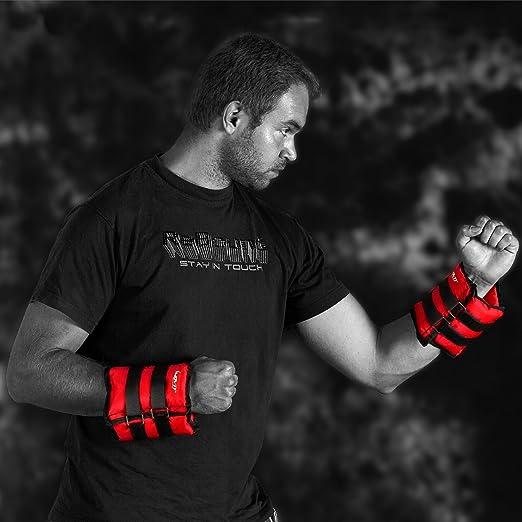 und Fu/ßgelenke 2er Set Arme und Beine Gewichtsmanschette Fu/ß//Handgelenk Gewichtsmanschetten f/ür Hand