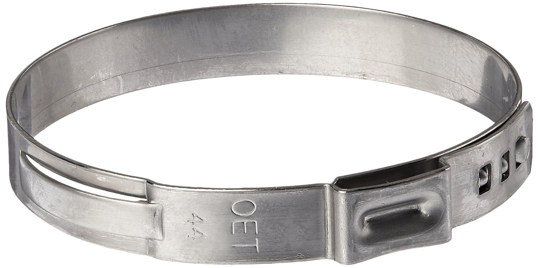 OETIKER 16703640無段階耳クランプ、1つ耳、クランプID範囲40.8 MM (閉じた) – 44 mm ( Open ) Pack of 10 シルバー 16703640-10 10 B013X0JHOS