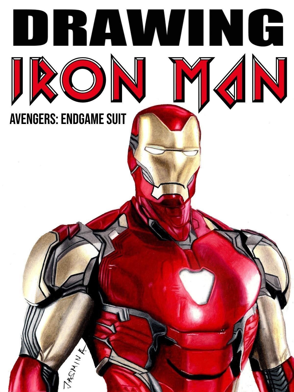 Iron Man Tie Clip Marvel Inspired