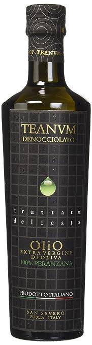 2 opinioni per Teanum Olio Extravergine d'Oliva Denocciolato, Fruttato Delicato- 250 ml