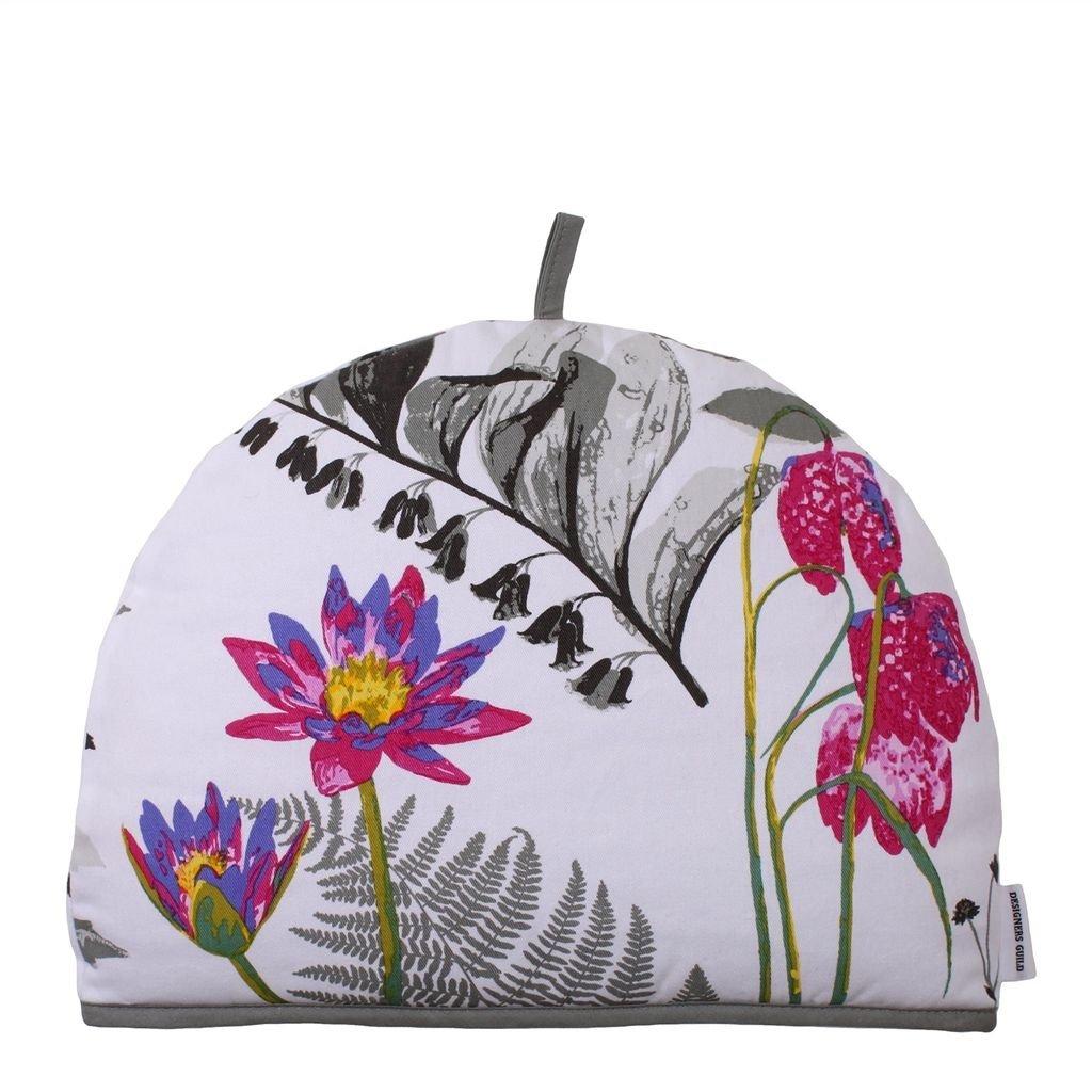 Ulster Weavers Mokuren Graphite Flower Cotton Tea Cozy Cozie