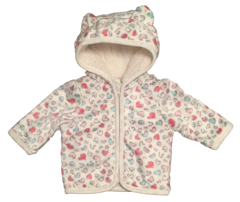 e8fa8b1b4 Amazon.com  Healthtex Baby Girl Minky Hooded Jacket