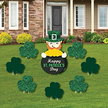 St. Patricku0027s Day   Yard Sign U0026 Outdoor Lawn Decorations   Saint Pattyu0027s  Day Party