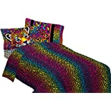 Lisa Frank MA5948 Wildside Sheet Set, Twin