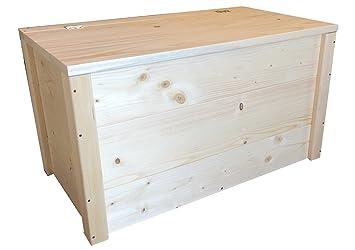 Truhebank Sitzbank Sitztruhe Truhen Banktruhe Aus Holz 150x40x45h Cm