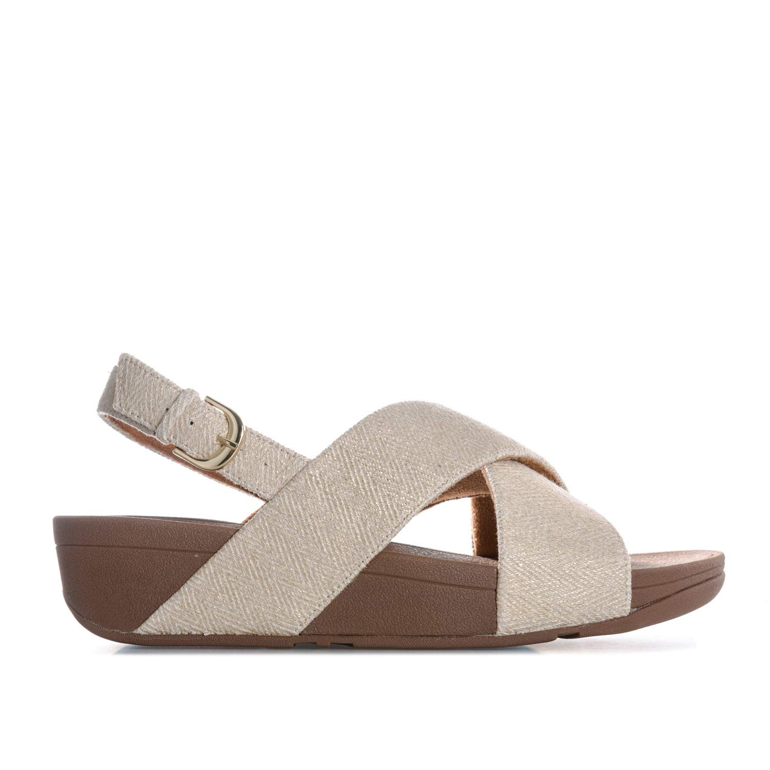 dc3e1aa5a Womens Fit Flop Womens Lulu Mirage Back Strap Sandals in White - UK 6.5   Amazon.co.uk  Shoes   Bags