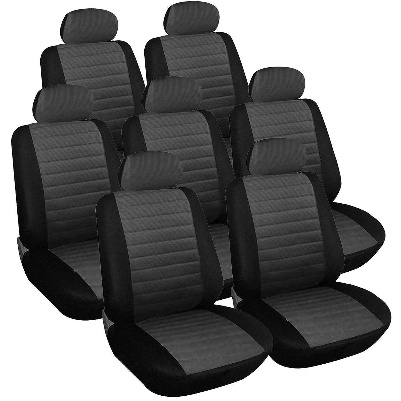 eSituro Car Seat Covers Van Seat Protector Cover Universal type Full set of 7 Seats