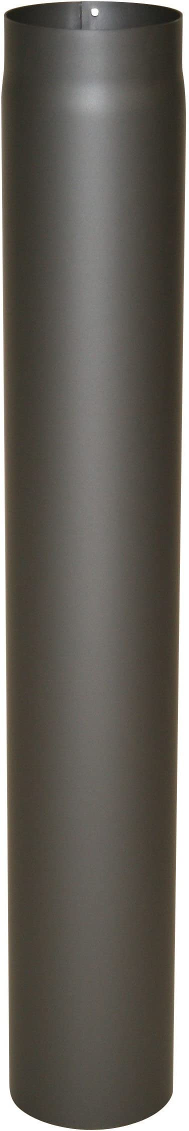 Kamino-Flam 331723 Senotherm Tuyau de po/êle Gris /Épaisseur 2 mm Diam/ètre 120 mm Longueur 1000 mm