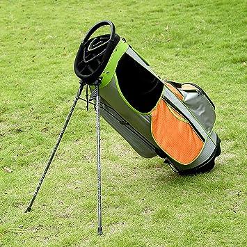 ZXX Bolsa de Golf Verde Claro Hombres y Mujeres Bracket Gun ...