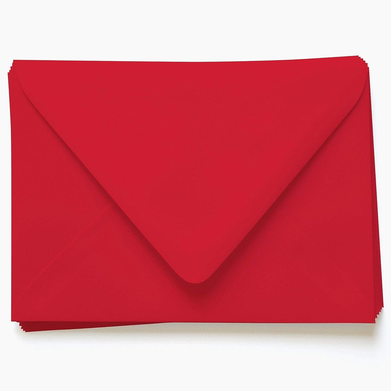 Stationary Envelopes Wedding Envelopes Scarlet Envelopes Dark Red Red RSVP Envelopes Red A2 Envelopes Red A7 Envelopes Red Envelope