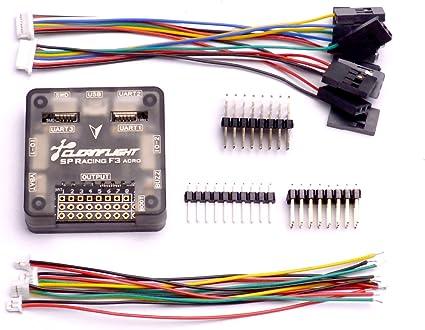 Controlador de vuelo F3 Racing Color : -, Size : - NAZE32 Acro Pro SP Controlador de vuelo F3 Racing Racing para DIY 250 RC Quadcopter
