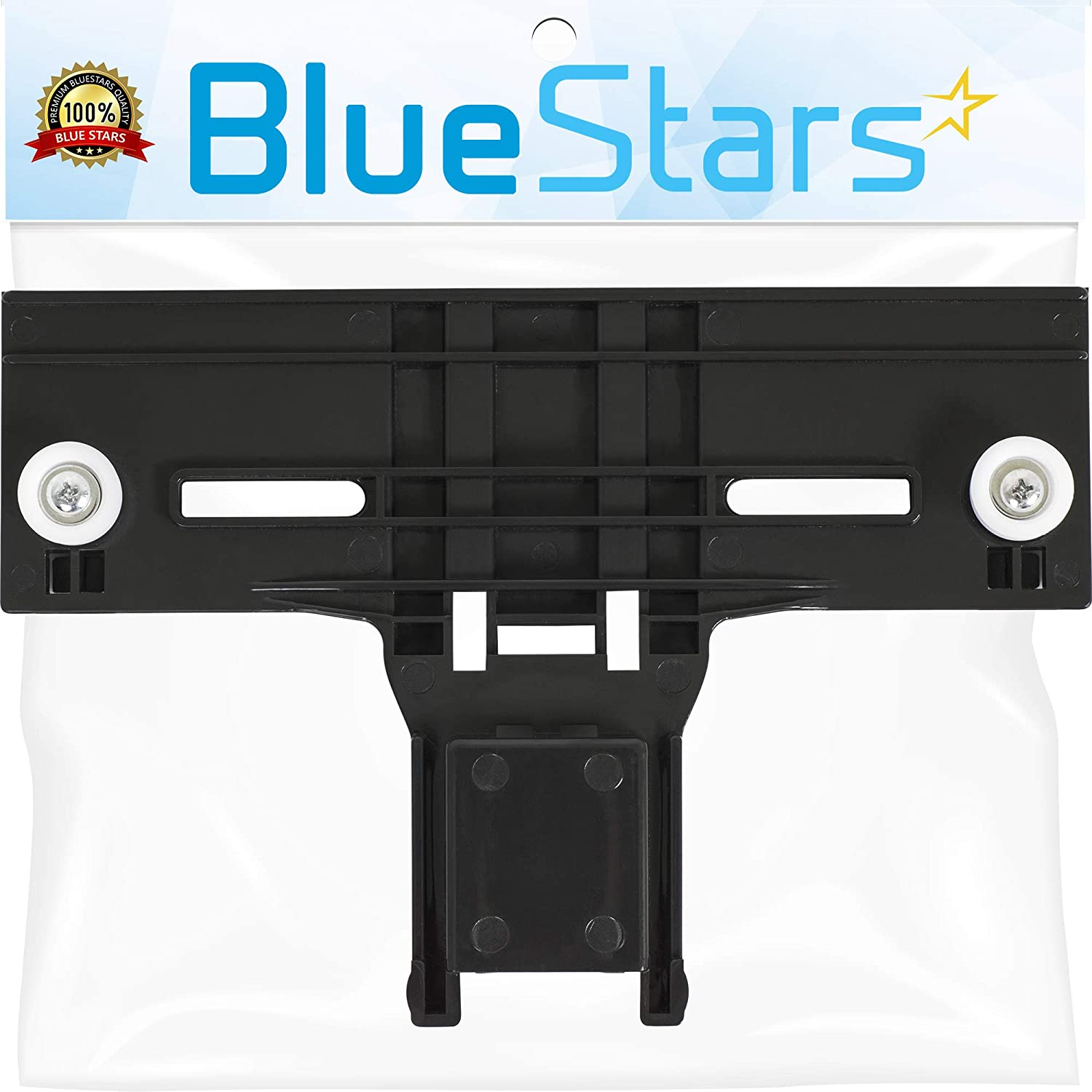 [ Upgraded ] Ultra Durable W10350376 Dishwasher Top Rack Adjuster Replacement Part by Blue Stars - Exact Fit for Kitchen Aid Kenmore Dishwasher - Enhanced Durability with Steel Screws