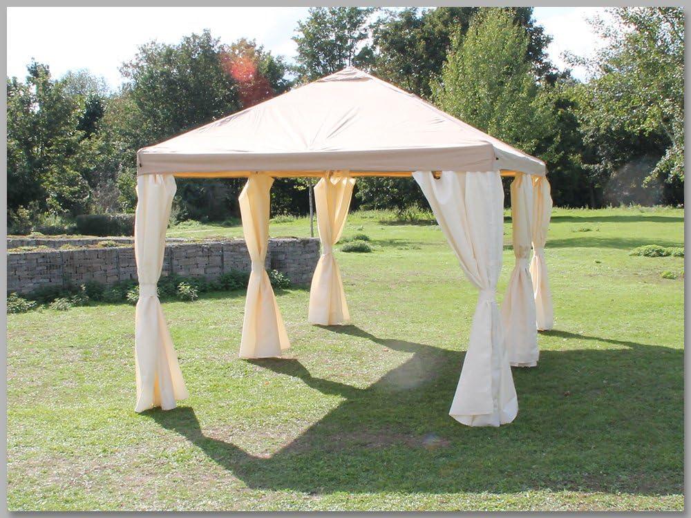 Carpa 3 x 6 m Sahara marrón Party 6 x 3 m venta tienda impermeable: Amazon.es: Jardín