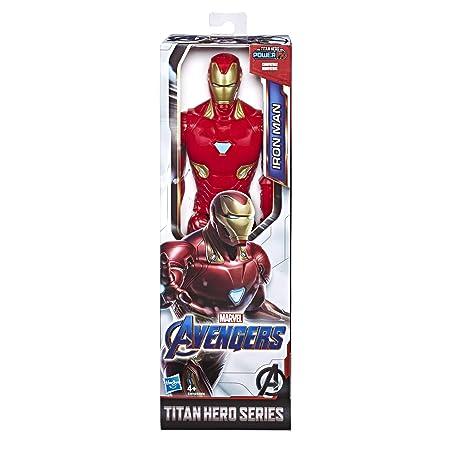 Hasbro Avengers E3918ES0 Avengers Titan Hero Figur Iron Man, Mehrfarbig