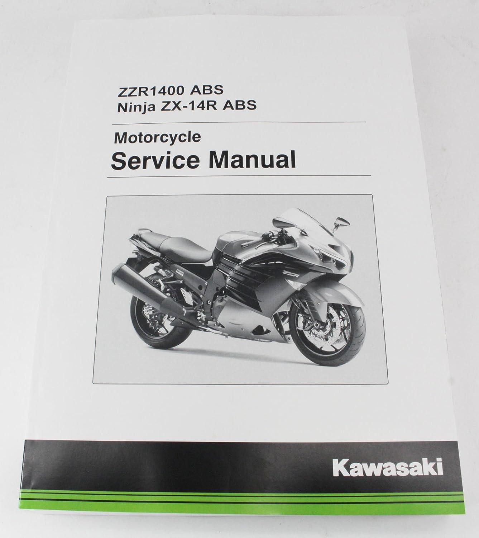 Amazon.com: Kawasaki 2016 2017 Ninja ZX-14R ZX14R ABS SE Service Manual  99924-1508-02 NewOEM: Automotive