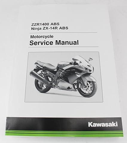 Kawasaki 2016 2017 Ninja ZX-14R ZX14R ABS se Servicio Manual ...