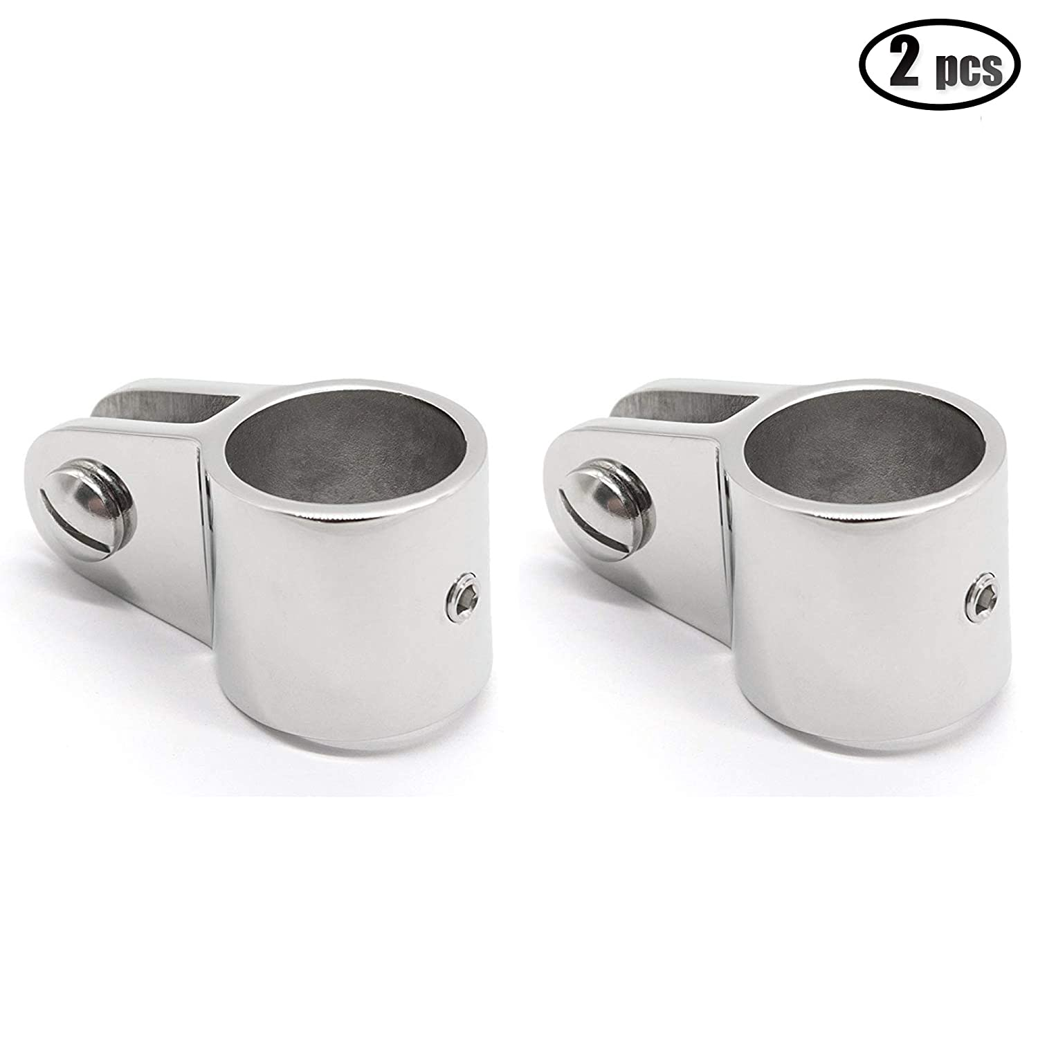 2 PCS Bimini Top Jaw Slide, Marine Boat Hardware Fitting Stainless Steel 1 inch 26mm iztor